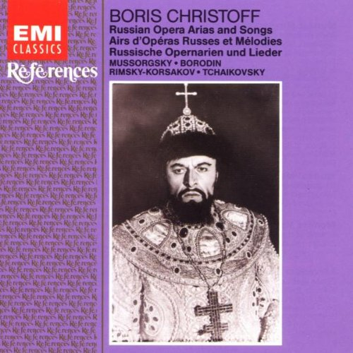 Boris Christoff Russian Opera Arias and Songs EMI References