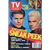 TV Guide September 6-12, 2003 (David Boreanaz and James Marsters; Sneak Peek: Angel-Spike's Back, and Buffy, Too...