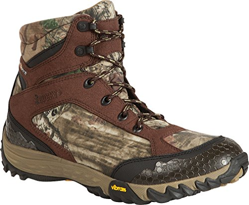 "Rocky Men'S 6"" Silent Wp Camouflage Hunting Boot 10.5 W"