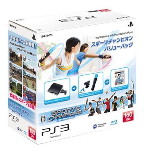 【ゲーム 買取】PlayStation 3(160GB) PlayStation Move スポーツチャンピオン バリューパック(CEJH-10015)