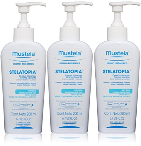 Baby Gift Promotion Stelatopia Cream Cleanser, 6.7 fl. oz. (Pack of 3)