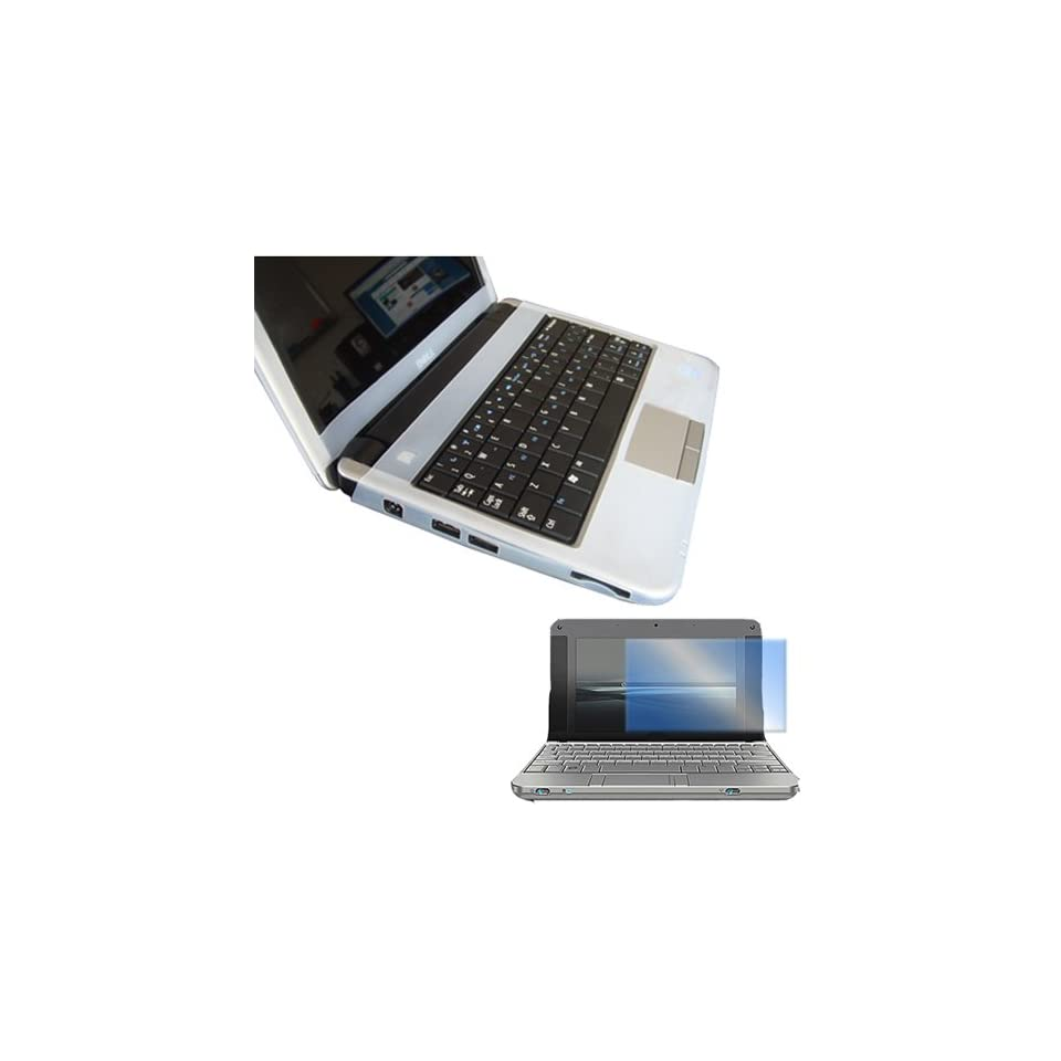 Dell Inspiron Mini 9 Series Laptop Accessory Combo Bundle Pack Clear Silicone Skin and a Screen Guard / Protector for your Netbook Computer