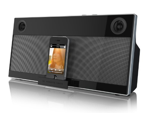 The Sharper Image Esi-A682 Ambience Home Audio Docking Station For Ipod, Iphone And Ipad