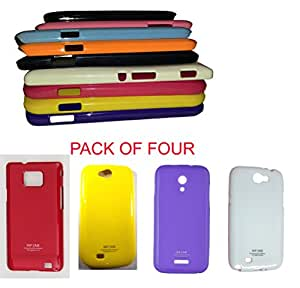 ( Pack of Four ). Rich Finish, Light weight thinnest wall New Housing Back cover for your Mobil : Xperia-XPM With Easy to insert the phone and has perfect holes for the charger, headphones and the camera. Pack of Four in any colour's