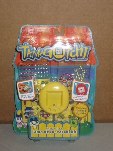 Tamagotchi Connection V 5 Tamagotchi Deco-ratchi Kit - New Skin Color and Gozarutchi stickers