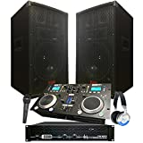 Starter Dj System - 2100 WATTS - Connect your Laptop, iPod, USB, MP3\'s or Cd\'s! 10\