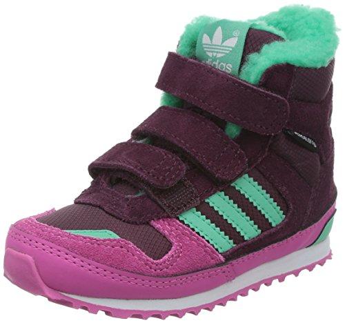 Adidas - ZX Winter CF I - Color: Bordeaux-Rosa-Verde - Size: 24.0