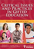 img - for Critical Issues and Practices in Gifted Education: What the Research Says book / textbook / text book