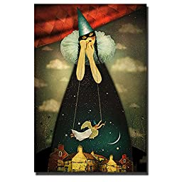 Silent Night by Marta Orlowska Premium Gallery-Wrapped Canvas Giclee Art (Ready-to-Hang)