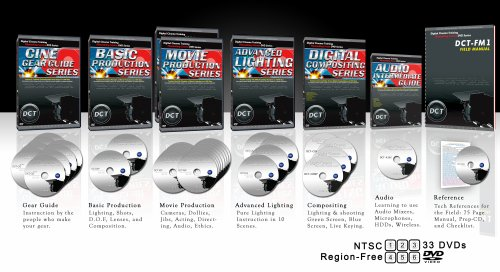 Digital Cinema Filmmaking DVD Course (Complete)