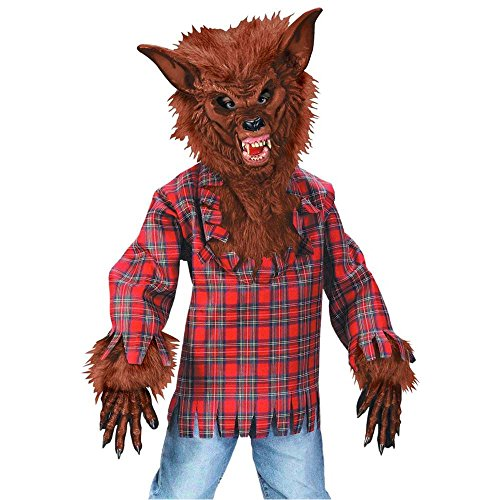 Brown Werewolf Boy Kids Costume