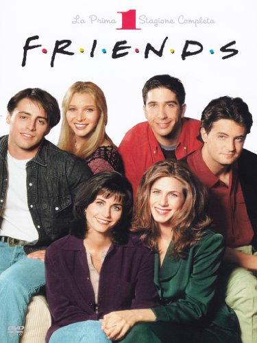 Friends Stagione 01 Episodi 001-024 [5 DVDs] [IT Import]