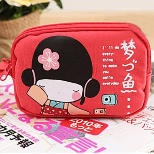 51OTkbITluL Cute Japanese Girl Canvas Coin Purses/Phone Bags for $1.16 Shipped!