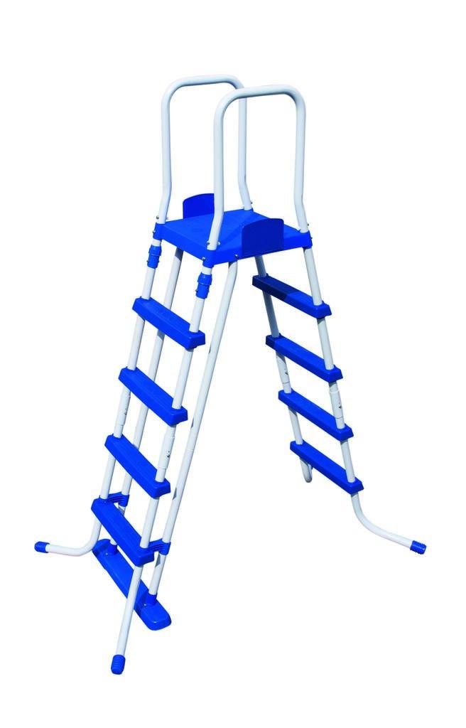 Pool-Leiter 5 Stufen für Pool bis 132cm für Fast Set und Frame Pool günstig kaufen