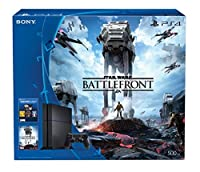500GB PlayStation 4 Console -Star Wars Battlefront Bundle from Sony
