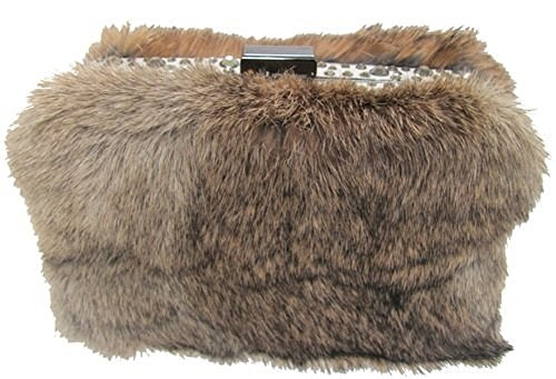 sondra-roberts-fur-clutch-taupe