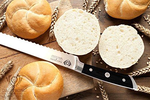 DALSTRONG Bread Knife - Gladiator Series - German HC Steel - 10