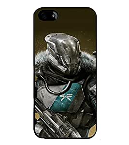 printtech Battlefield Game View Back Case Cover for Apple iPhone 5
