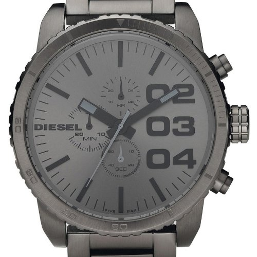 diesel herren armbanduhr xl franchise 51 chronograph quarz. Black Bedroom Furniture Sets. Home Design Ideas