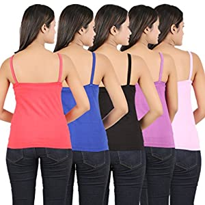 Sewn Women's Camisole(Pack of 5)
