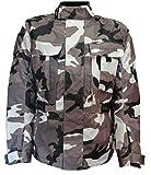 Bangla 1911 Men Motorbike Jacket Textile CORDURA600 Camouflage Grey L