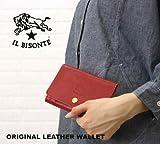 [イルビゾンテ]IL BISONTE 二つ折り財布 5432300140-0061201 F(フリー) ブラック(35)