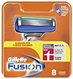 Gillette Fusion Klingen, 8 Stck