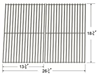 Bar.b.q.s Replacement Charbroil BBQ Gas Grill Stainless Steel Burners, Crossover Tubes and,Porcelain Steel Heat Plates (SS Cooking Grid) from Bar.b.q.s