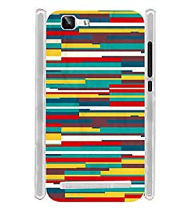 Pattern Tribal Art Colors Soft Silicon Rubberized Back Case Cover for Vivo X5 Max