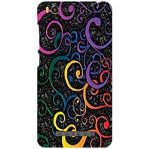 Xiaomi Mi4i MZB4300IN Back cover - Pattern Art Designer Cases