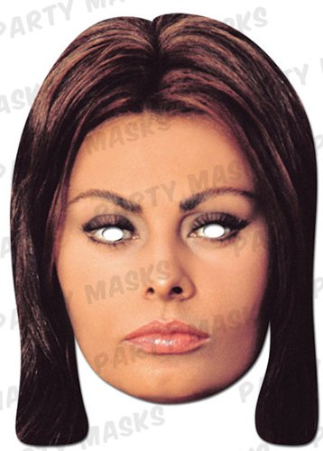 Official Sophia Loren Celebrity Mask