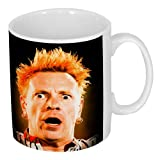 Amazing Sex Pistols Johnny Rotten Coffee / Tea Mug. ***FAST & FREE UK DELIVERY*** This amazing image of Johnny Rotten of Sex Pistols & Public Image Limited PIL is EXCLUSIVELY available from Henry Hardpad, there is nowhere else in the world this can be pu