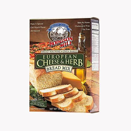 Hodgson Mill European Cheese & Herb Bread Mix, 16-Ounce Boxes (Pack of 6) (Bread Machine Mixes Variety Packs compare prices)
