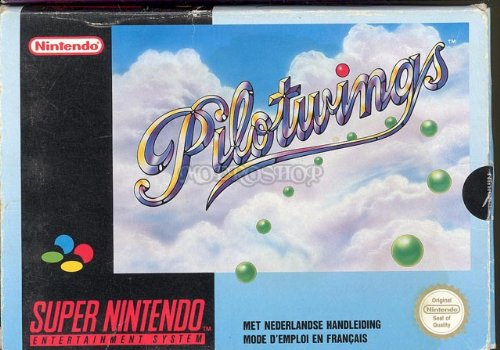 Pilotwings - Super Nintendo - PAL
