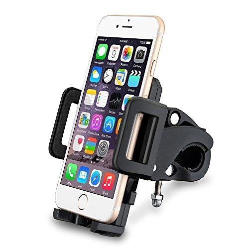 [Modèle Récente]VicTsing Support Universel Téléphone pour Guidon Motocyclette / Vélo,Taille Réglable Compatible avec iPhone 6S 6S Plus 6 6 Plus 5 5s Galaxy S6 Edge S6 S5 S4, etc.
