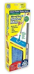 Microfiber Swivel Mop (w/ 2 Pads)