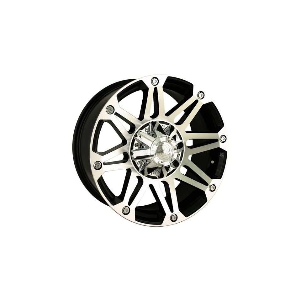 Mayhem Riot 18 Machined Black Wheel / Rim 8x6.5 & 8x170 with a  12mm Offset and a 130.8 Hub Bore. Partnumber 8010 8976B
