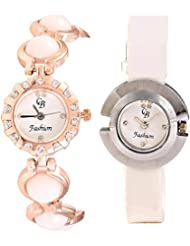 CB Fashion Combo Of Analog Multicolour Dial Women's Watch (RW170)