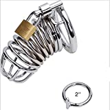 HuiSiFang® Male Sex Toys Penis Cage Devices Alloy (Ring 5cm)