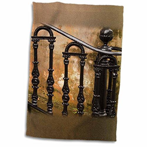 3dRose Danita Delimont - Georgia - Georgia, Savannah. Wrought iron railing - US11 JWL0189 - Joanne Wells - 12x18 Towel (twl_89374_1) (Decorative Iron Railing compare prices)