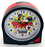 Childrens Fix&Foxi Alarm Clock black