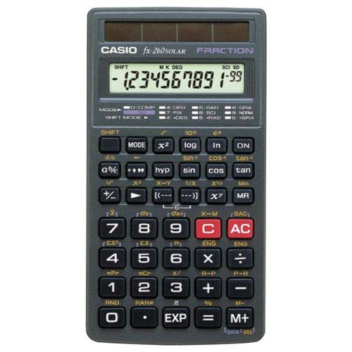 Casio scientific calculator (fx260slrsc) by casio. $10. 59. From.