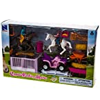 Valley Ranch Horse Girls Playset
