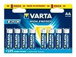 Varta - Pile Alcaline - AA x 8 - High...