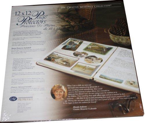 Creative Memories 12 X 12 Page Protectors 15 Sheets +1 Bonus Protector (Creative Memories Supplies compare prices)