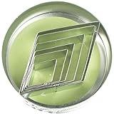 Foxrun Tinplated Steel Diamond Shape Cookie Cutter Set