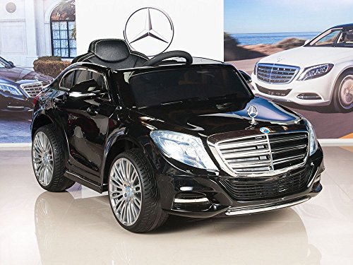 mercedes benz s600 12v kids ride on battery powered wheels car rc remote black