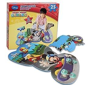 Amazon Com Disney Mickey Mouse Clubhouse 25 Piece Floor