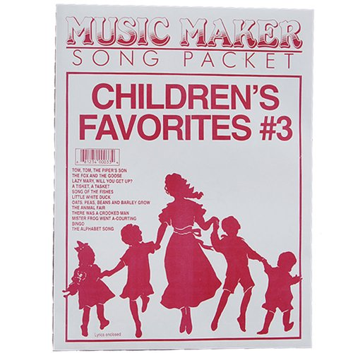European Expressions Intl Children's Favorites #3 Music Maker Song Packet