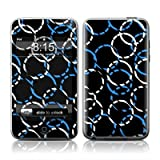 Blue Loops Design Apple iPod Touch 1G (1st Gen) Protector Skin Decal Sticker